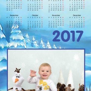 družinsko fotografiranje EnchPro koledar