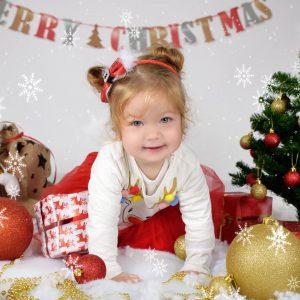 božično foto enchpro otroci