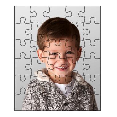 Sestavljanke s fotografijo vašega otroka